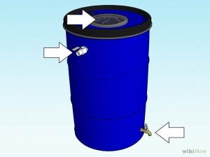 fabriquer votre r cup rateur d 39 eau de pluie les bonnes. Black Bedroom Furniture Sets. Home Design Ideas