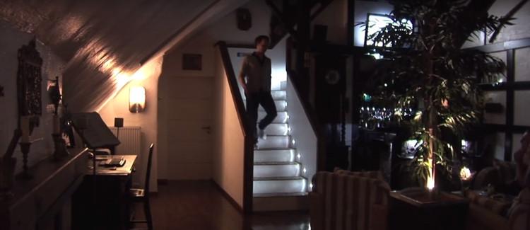 Allumage progressif escalier