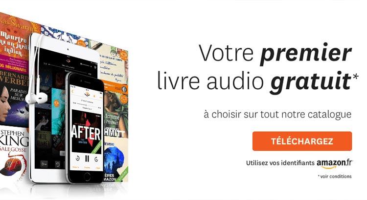 Livre audio audible gratuit