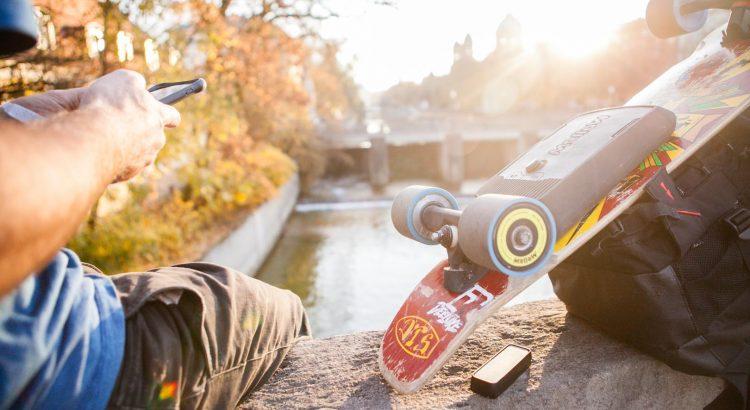MellowBoard Skateboard électrique