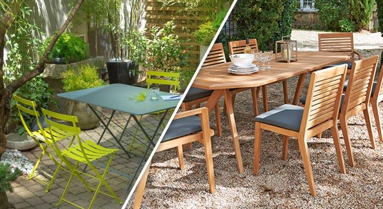 Nettoyer ses meubles de jardin avec des produits naturels