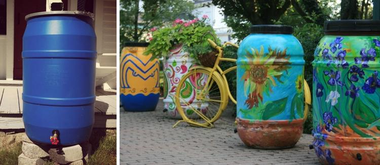 Fabriquer votre r cup rateur d 39 eau de pluie les bonnes id es jardin - Fabriquer une horloge a eau ...