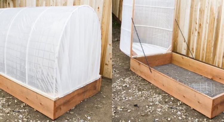 Une mini serre de jardin faire soi m me les bonnes - Construire une serre avec des palettes ...