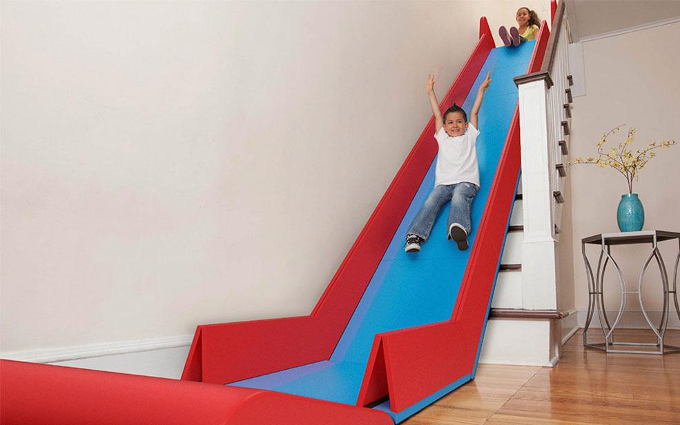 Transformer son escalier en toboggan avec SlideRider