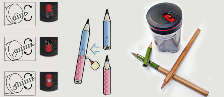 Taille-crayon Tsunago