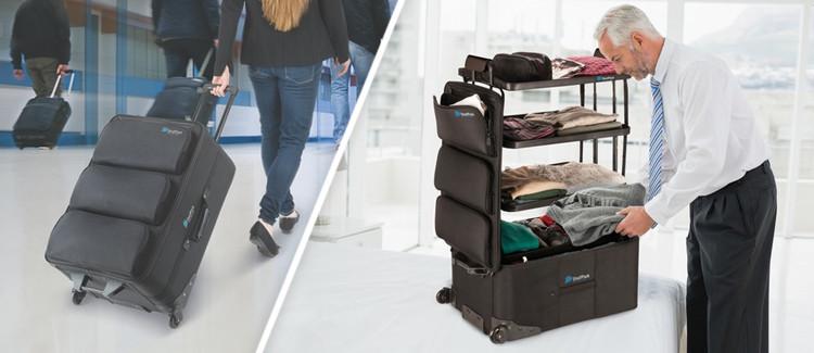 Valise étagère shelpack